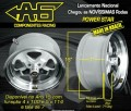 RODA ALUMINIO POWER STAR AG  -  15x7